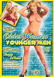 Older Women, Younger Men 15 Box Cover