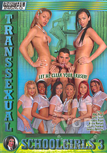 Transsexual Schoolgirls 3 Box Cover