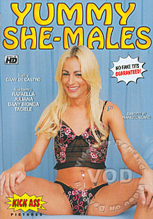 Yummy She-Males Box Cover