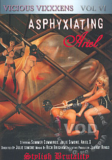 Vicious Vixxxens Vol VI - Asphyxiating Ariel Box Cover