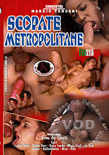 Scopate Metropolitane Box Cover