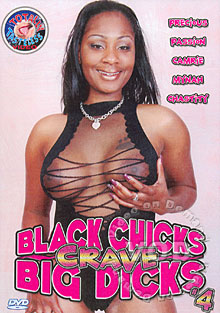 Black Chicks Crave Big Dicks 4 Box Cover