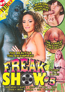 Freak Show #5 Box Cover