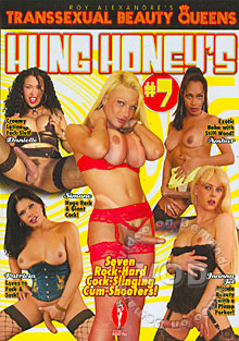 Roy Alexandre's Transsexual Beauty Queens - Hung Honey's #7 Box Cover