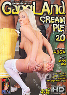 Gangland Cream Pie 20 Box Cover