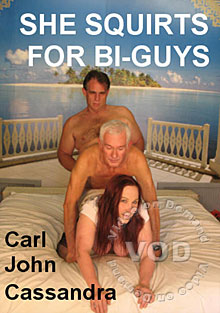 She Squirts For Bi-Guys Box Cover