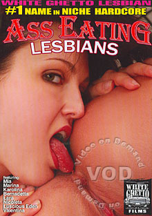 Ass Eating Lesbians Box Cover