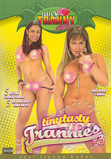 Tinytasty Trannies #3 Box Cover