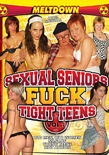 Sexual Seniors Fuck Tight Teens Vol 1 Box Cover