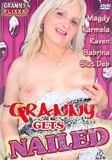 Granny Gets Nailed Box Cover