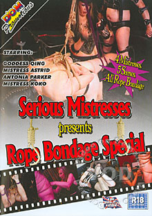 Serious Mistresses Presents Rope Bondage Special Box Cover