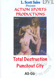 AS-06: Total Destruction - Punchout City Box Cover