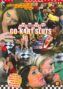 Mad Sex Party Go-Kart Sluts Box Cover