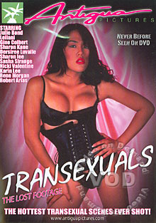 Transsexuals: The Lost Footage Box Cover
