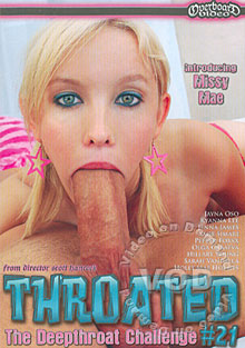 Throated #21 Box Cover
