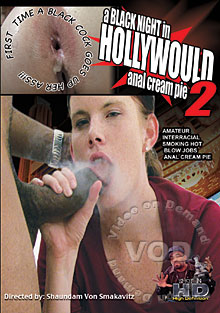 A Black Night In Hollywould 2 - Anal Cream Pie Box Cover