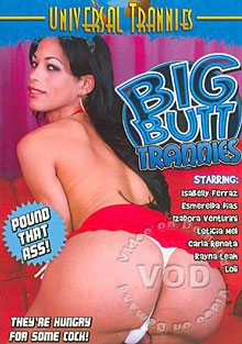 Big Butt Trannies Box Cover