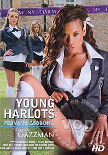 Young Harlots - Private Lessons Box Cover
