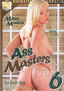 Ass Masters 6 Box Cover