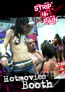 Strip For Pain - Hotmovies Booth Box Cover