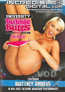 University Bubble Butts Volume 2 Box Cover