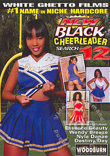 New Black Cheerleader Search 12 Box Cover