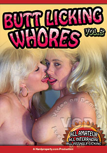 Buttlicking Whores 3