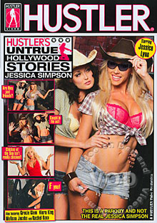 Hustler's Untrue Hollywood Stories - Jessica Simpson