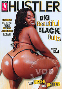 Big Beautiful Black Butts Box Cover