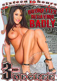 Brunettes Behaving Badly - Disc Three Box Cover