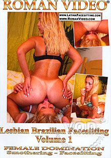 Lesbian Brazilian Facesitting Volume 1 Box Cover