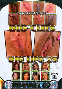 Big Clits Big Lips 25 Box Cover