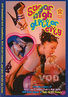 Sugar High Glitter City Box Cover