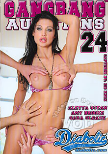Gangbang Auditions #24 Box Cover