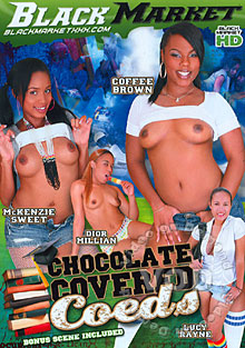 Chocolate Covered Coeds Box Cover