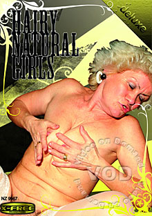 Hairy Natural Girls Box Cover