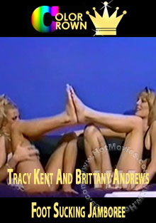 Tracy Kent and Brittany Andrews Foot Sucking Jamboree