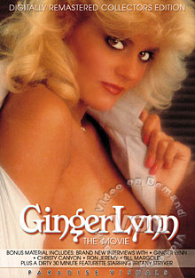 Ginger Lynn The Movie Box Cover