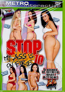 Stop My Ass Is On Fire 10 Box Cover
