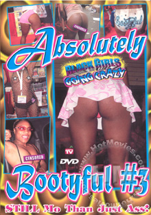 Black Girls Going Crazy-Absolutely Bootyful #3 Box Cover
