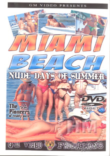 Miami Beach Nude Days Of Summer Box Cover