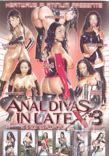 Anal Divas in Latex #3 Box Cover