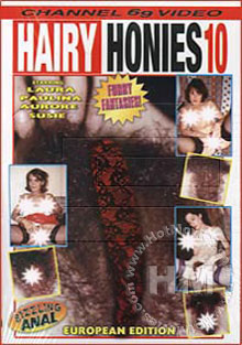 Hairy Honies 10 Box Cover