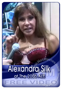 Alexandra Silk Interview At The 2005 Adult Entertainment Expo Box Cover
