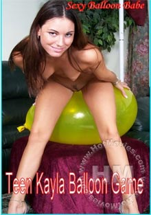 Teen Kayla Balloon Game Box Cover