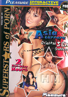 Superstars Of Porn Volume 19 - Asia Carrera Box Cover