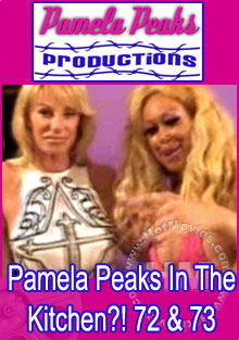 Pamela Peaks In The Kitchen?! 72 & 73 Box Cover