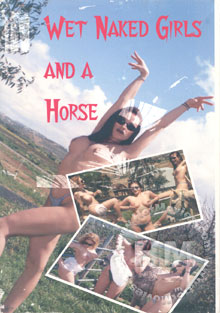Wet Naked Girls And A Horse Box Cover