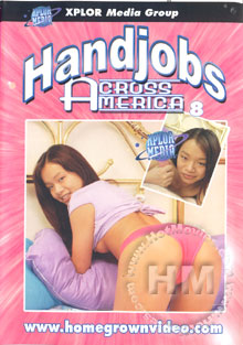 Handjobs Across America 8 Box Cover