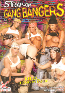 Strap-On Gang Bangers Box Cover